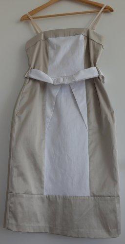 Rinascimento Abito bustier bianco-beige chiaro Cotone
