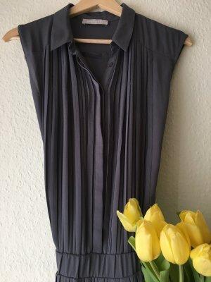 Stefanel Koszulowa sukienka jasnoszary-szary niebieski