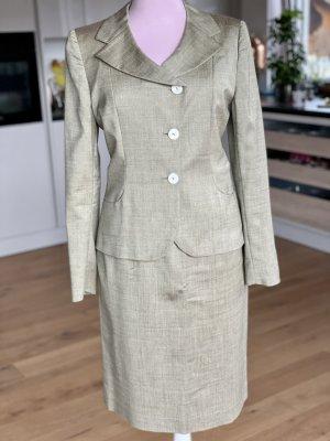 Antonio Fusco Ladies' Suit green grey