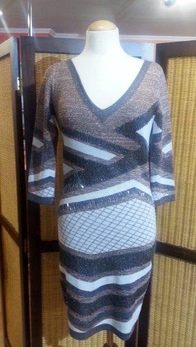 Guess Gebreide jurk veelkleurig Viscose