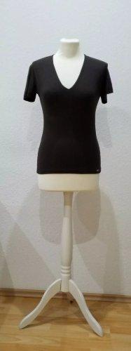 Elegantes T-Shirt von Esprit Collection, Gr.S, dunkelbraun, Top-Zustand