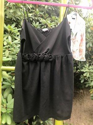 H&M Top stile impero nero