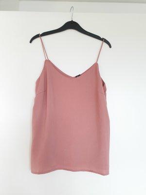Vero Moda Top met spaghettibandjes stoffig roze-rosé
