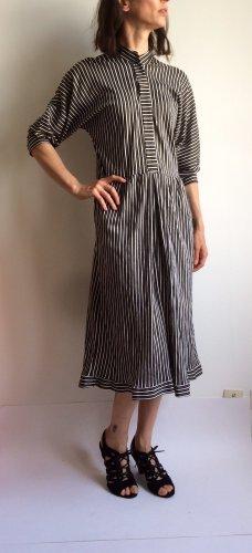 Sukienka z dżerseju czarny-biały