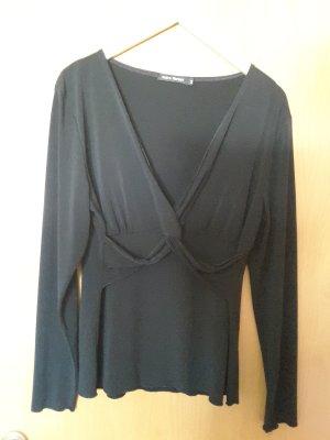 Wraparound Shirt black