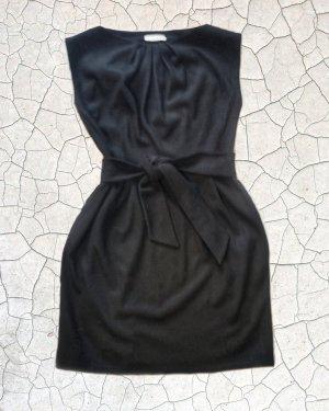 Vestido de lana negro Lana
