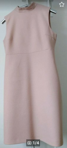 Hallhuber Woolen Dress pink