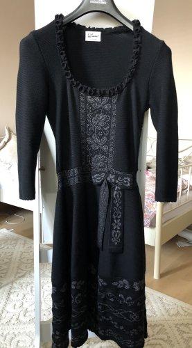 Luis Trenker Woolen Dress black
