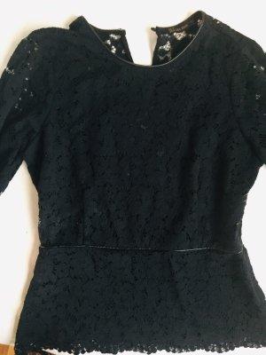 Elegantes Zara Oberteil, raffiniert und stylisch, Größe 36, schwarz