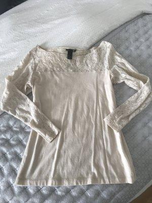 Elegente Shirt Bluse Spitze #fashion #chic