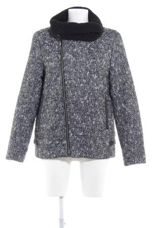 Element Coats Übergangsjacke schwarz-weiß Farbverlauf Casual-Look