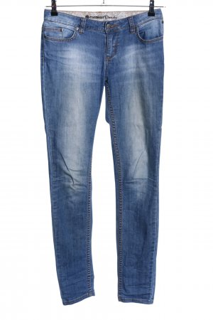 Element Karottenjeans blau Casual-Look