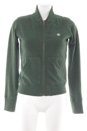 Element Chaqueta con capucha verde oscuro-crema
