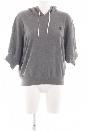 Element Kapuzensweatshirt hellgrau meliert Casual-Look