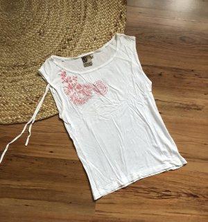 Element Camiseta estampada blanco-rosa