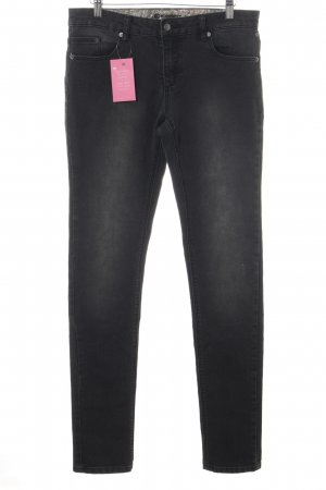 Element Skinny Jeans dunkelgrau Casual-Look