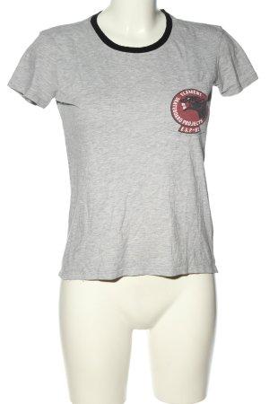 Element T-Shirt hellgrau meliert Casual-Look