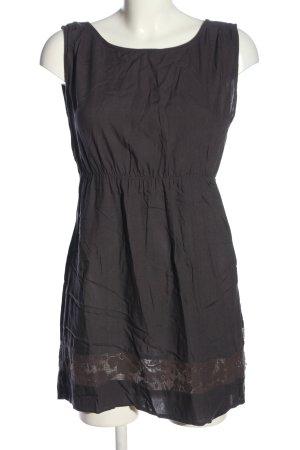 Element Trägerkleid schwarz-braun Casual-Look