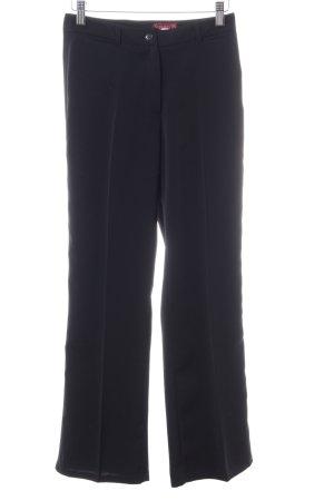 Elements Pantalon à pinces noir style classique