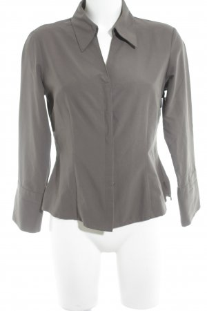 Elements Langarm-Bluse khaki Business-Look