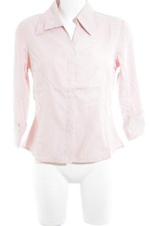 Elements Blusa de manga larga rosa look casual