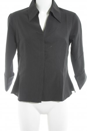 Elements Langarm-Bluse schwarz Business-Look