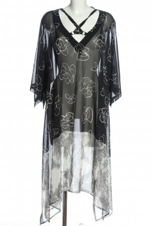 Elena Grunert Beachwear black flower pattern casual look