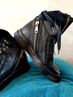 Elena Iachi Sneaker con zeppa nero