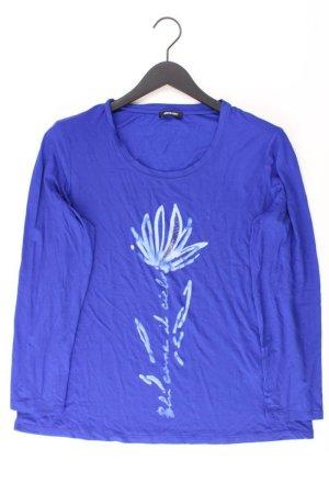 Elena Miro Oversize-Shirt Größe M blau aus Viskose