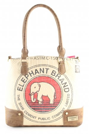 Elephbo Handtasche Motivdruck Casual-Look