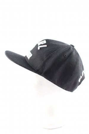 Eleven Paris Baseballówka czarny-biały Wyhaftowany logo W stylu casual