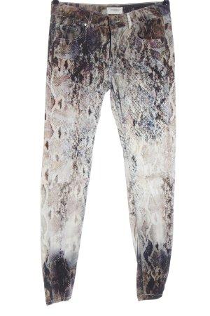 Eleven Paris Jeans vita bassa stampa integrale stile casual