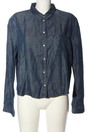 Eleven Paris Blouse en jean bleu style décontracté