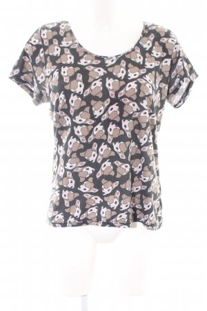 Eleven Paris Print-Shirt Allover-Druck Casual-Look