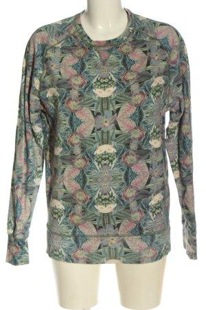 Eleven Paris Sweat Shirt allover print casual look