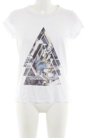 Eleven Paris T-shirt bianco stile casual