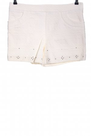 elevenses Shorts weiß Mustermix Casual-Look
