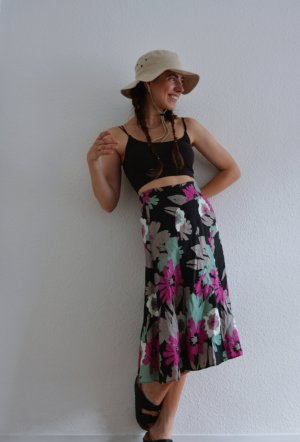 Monsoon High Waist Skirt multicolored