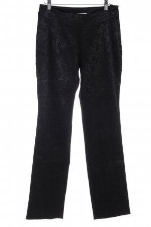 Elfenhaut High-Waist Hose schwarz Elegant