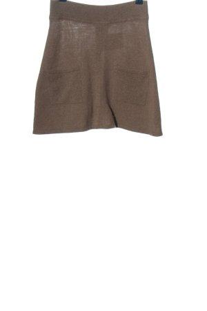 Elfenhaut Miniskirt brown casual look