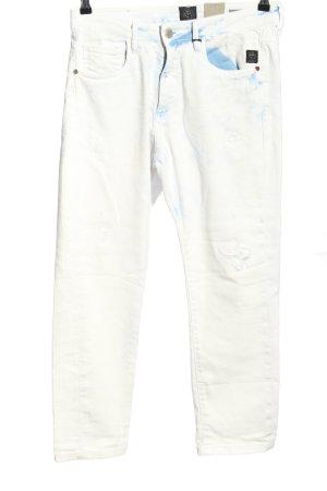 Elias Rumelis Boyfriend Jeans white-blue casual look