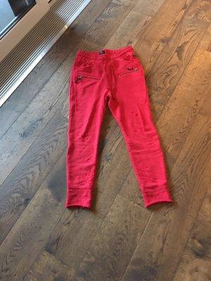 Elias Rumelis Boyfriend Trousers red-dark red
