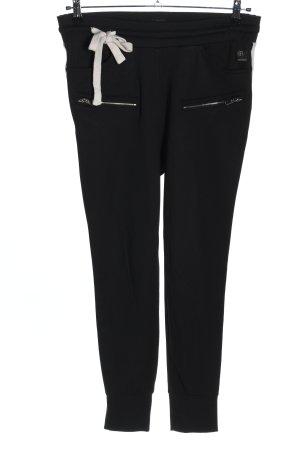 Elias Rumelis Sweat Pants black-white casual look