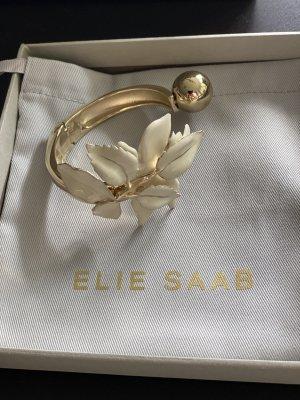 Elie Saab Bracelet de bras jaune clair-blanc
