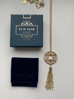 Elie Saab Kette gold 40  cm neu mit Box