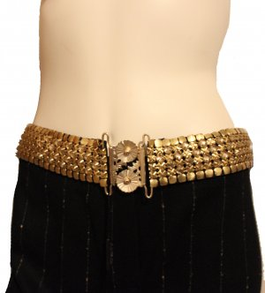Chain Belt gold-colored metal