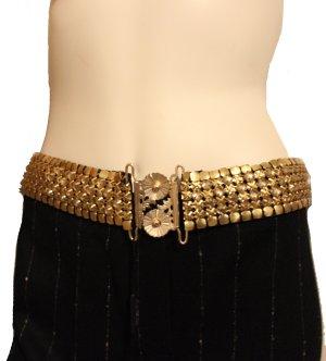Cintura con catena oro Metallo