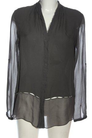 Elie Tahari Camicia blusa nero stile casual