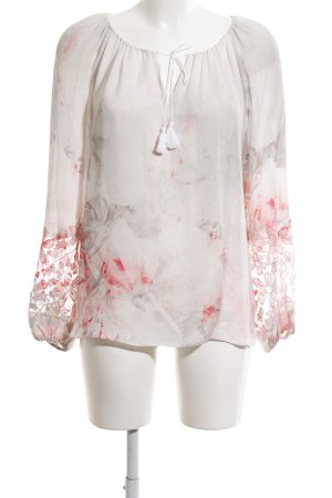 Elie Tahari Langarm-Bluse Blumenmuster Elegant