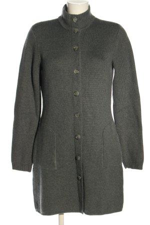 Elie Tahari Giacca in maglia grigio chiaro stile casual